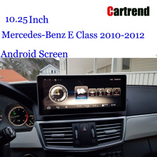 W212 Screen Android 10.25 планшет для Mercede-Benz