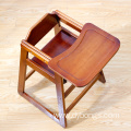 Pine Baby Feeding Chair High Quality Baby Dining Chair Wooden High Chair Baby Feeding