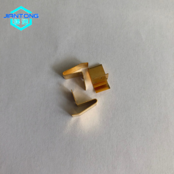 Brass Metal Stamping Precision Stamped Sheet Metal Parts
