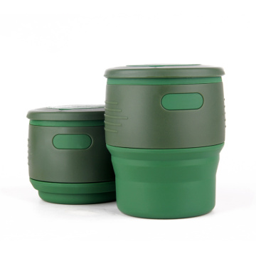Silicone Collapsible Coffee Cup
