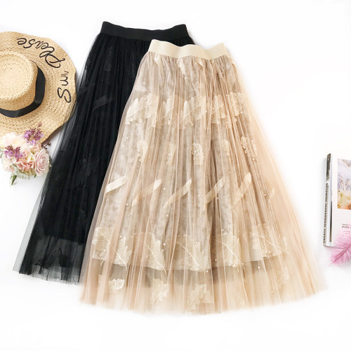 Women Fashion Loose Princess Polyester Velvet Skirts