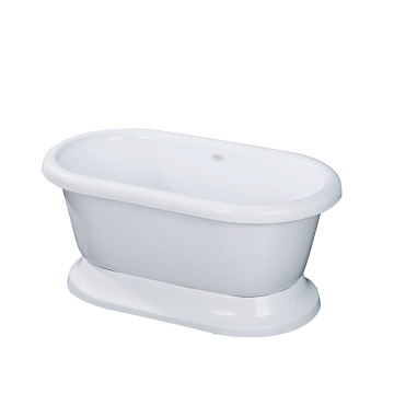 Acrylic Small Freestanding Bathtub for Small Bathroom