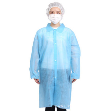 Disposable Non Woven Dental Hospital Medical Lab Coats