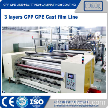 Professional CPP cast film extrusion line