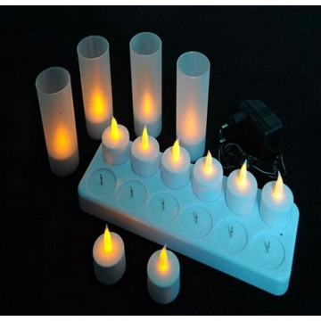 Rechargeable Led tea light candles