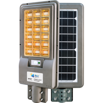 200W solar street light with charge indicator