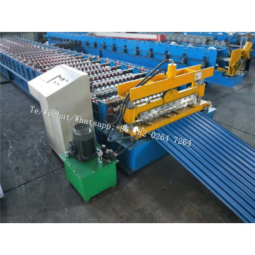Australia Style Shutter Door Machine For Sudan Customer