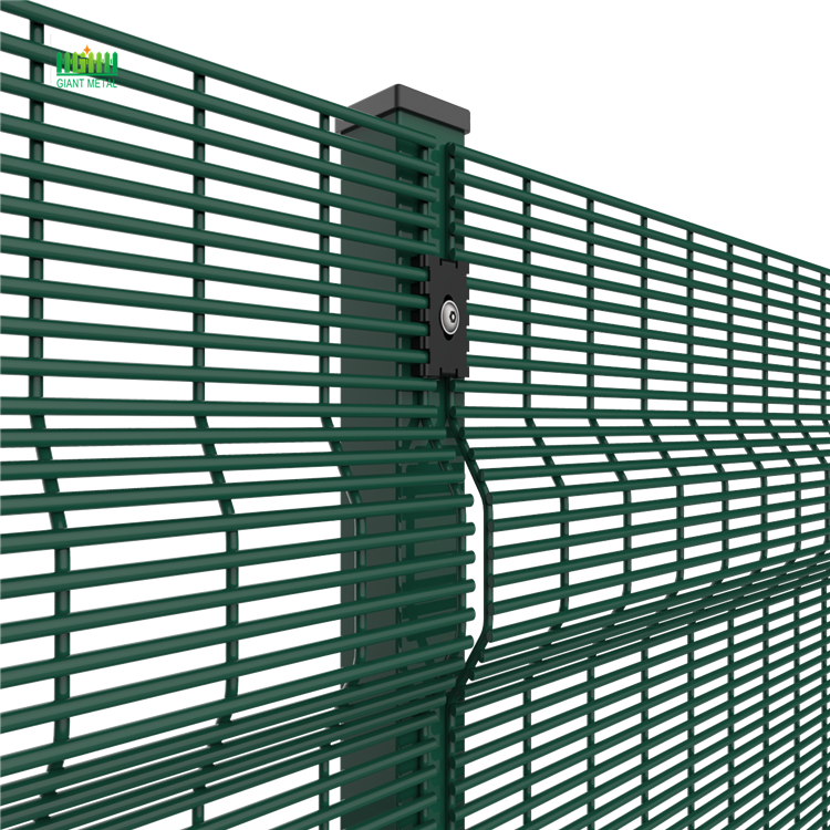Welded mesh security fences