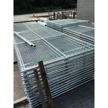 Security aluminium temporary fence panels construction fence panels