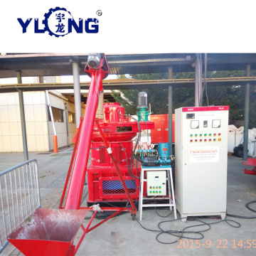 Yulong Xgj560 Pellets Machine Line Wood Pellet Production