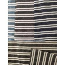 Poly Cotton Rayon Stripe Fabric