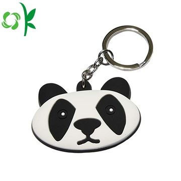 3D PVC Silicone Logo Custom Design Cartoon Keychains
