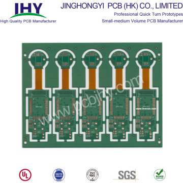 Multilayer HDI Rigid-Flex PCB