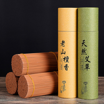 T Big Tube 350pcs Stick Incenses Mosquito Repellent Bulk Sale Wormwood Sandalwood Incense Sticks for Living Room Buddhist