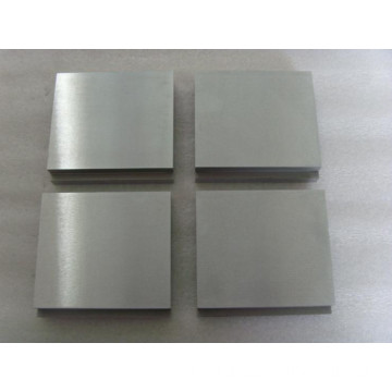 Polished pure  tungsten plate