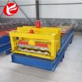 Metal sheet roof glazed tile sheeting rolling machine