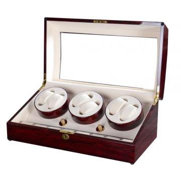 Triple Rotors Watch Winder For 14 Watches