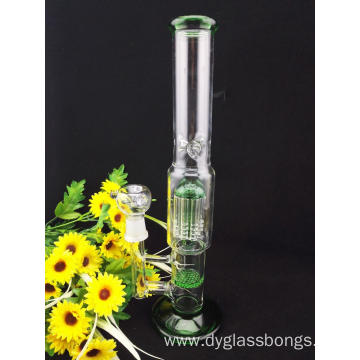 Glass Bongs with Honeycomb and Tree Type Percolaters