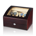 cherry wood watch box winder