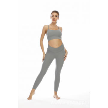 OEM Seamless Leggings Suit Women Yoga Sets
