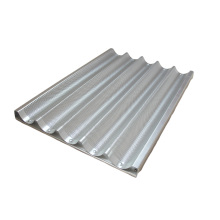 Aluminum Non-stick Peforated Baguette Tray