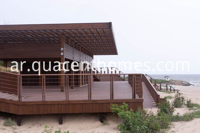 Tourist Resorts Glulam Houses