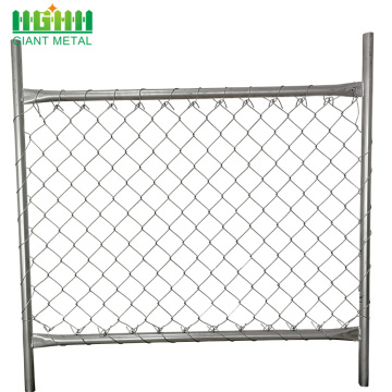 diamond hole size chain link fence chain link fence for sale factory