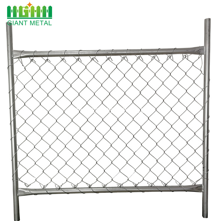 Used Chain Link Fence for Sale Factory
