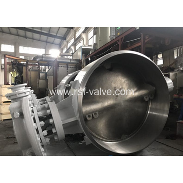 Triple Offset Butterfly Valve BW Ends