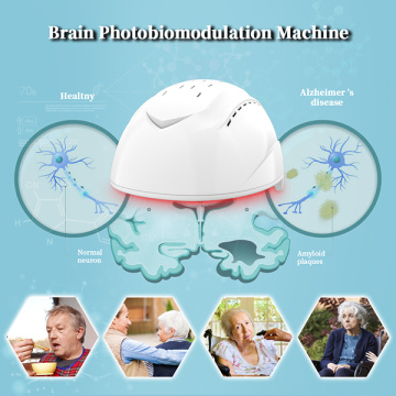 transcranial light therapy infrared 810nm helmet for Stroke