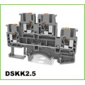 2 Layers Push-in Electric Dinrail Terminal Blocks
