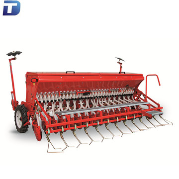 No till disc wheat seeder with precision drilling