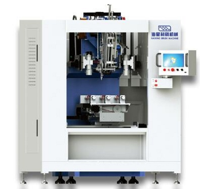 High Speed 3 Axis Flat Brush Machine
