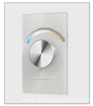 Wall Mount RF Touch Dimmer Single Color Controller