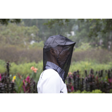 Black Anti Mosquito Net For Head