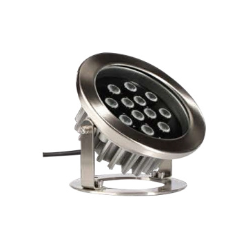 Stainless steel embedded underwater swimming pool lamp