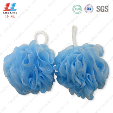 Mesh flower sponge soft bath ball