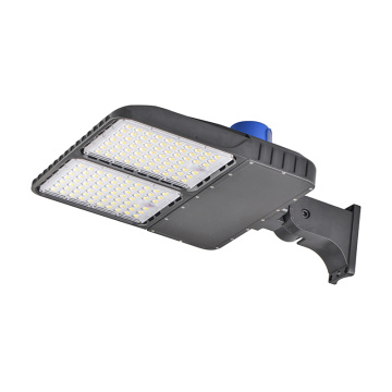 ETL DLC led shoebox pole light 240W photocell
