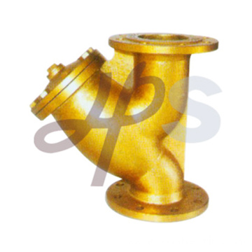 brass flanged strainers