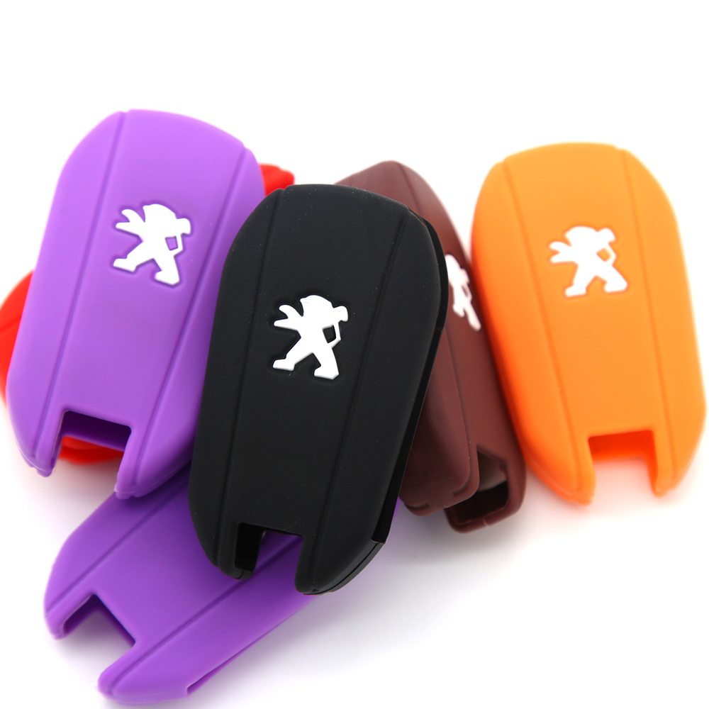 3 buttons car key silicon cover