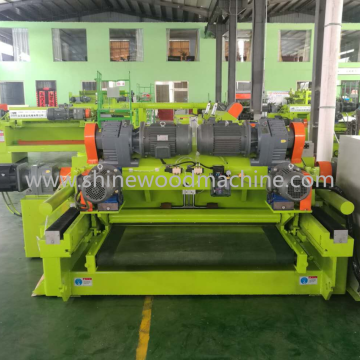 High Efficiency  Wood Veneer Peeling Machine