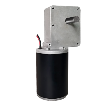 Right Angle DC Gear Motor | 12V 100 rpm Gear Motors for Sale