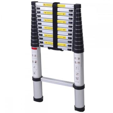 AluminIum single telescopic agility ladder