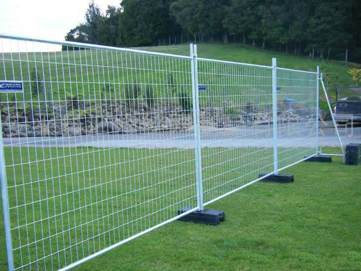 Temporary Construction Site Mesh Fencing