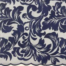 Classic Phoenix Pattern Yarn Embroidery Fabric