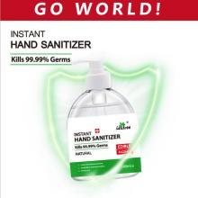 Instant hand sanitizer gifts 75% alcohol disinfectant 500ml