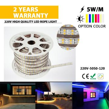 High lumen 5050 2 line LED strip light