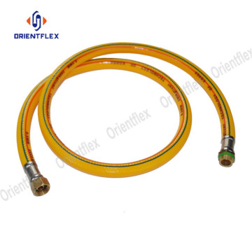 Soft industry pvc spray hose for chemical delivery