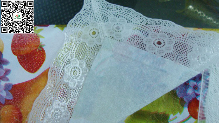 2 incle lace edge tablecloth