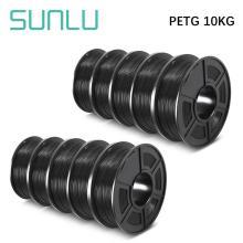 SUNLU Filament 10KG PETG 3D Printer Filamen pla Filament 1KG a Roll Filament Extruder 3D Pen